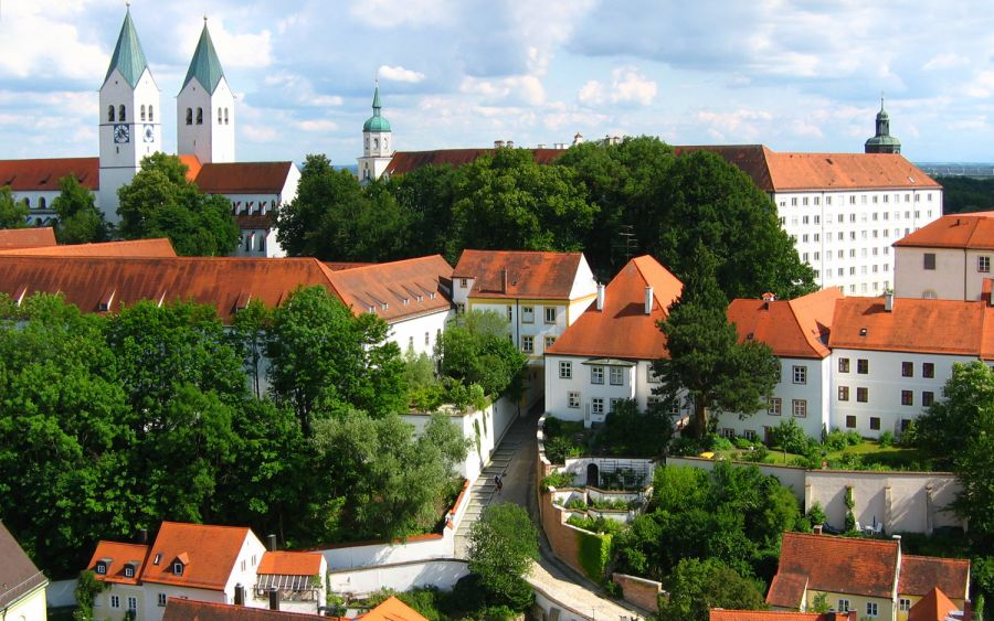 Mariendom from the Domberg in Freising